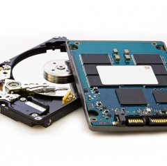 Festplatte und SSD